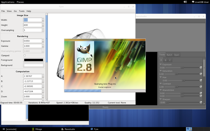 LiveCD Graphics image with OpenBSD - carry your graphics packages in